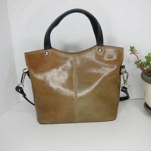 T Nobile Italian Leather Crossbody Purse
